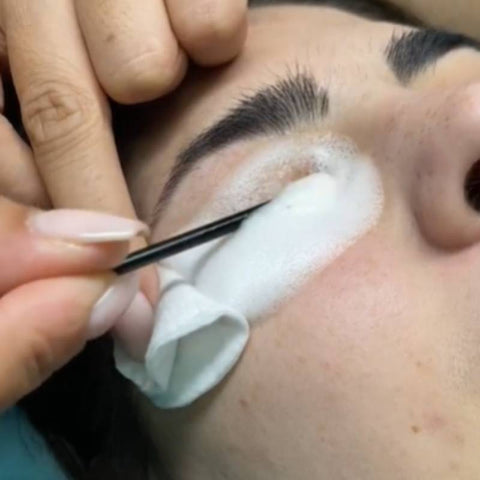 How to clean lash extensions?