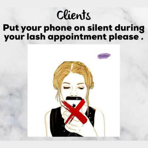 MOBILE PHONES ON SILENT MODE