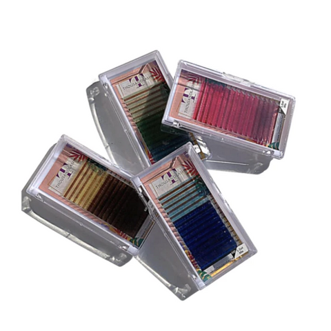 Mix Shade Color Lashes 0.07 Mix 7-17mm (Mix Tray)