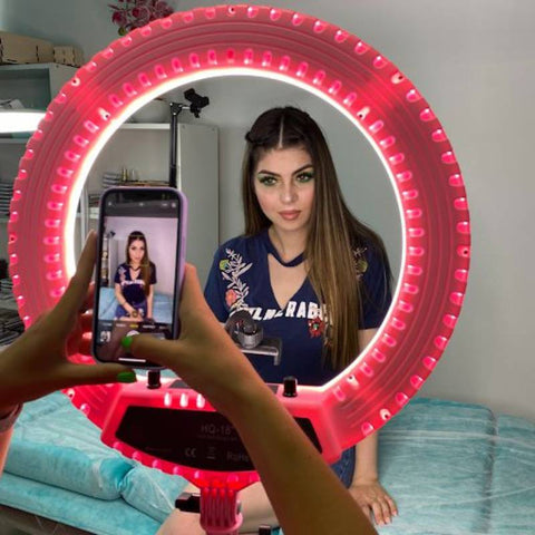Ring light to use for lash photos and videos