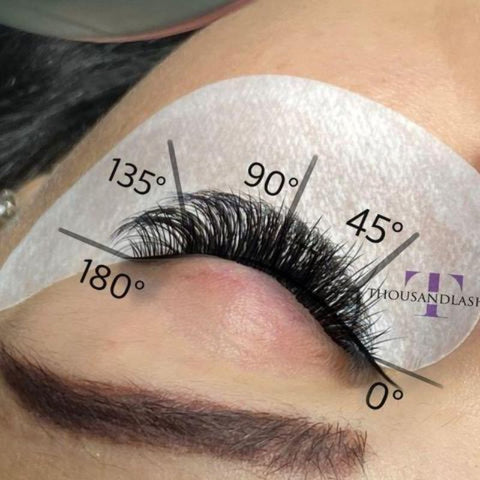 What are volume lashes?