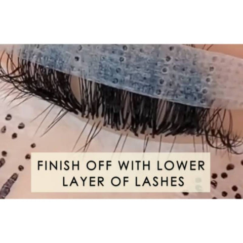 What is lash layering?
