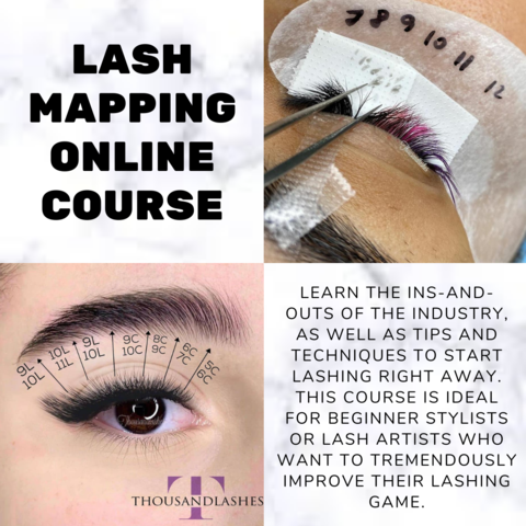 lash mapping online course