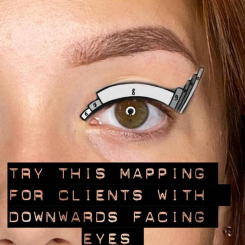 Lash mapping tips