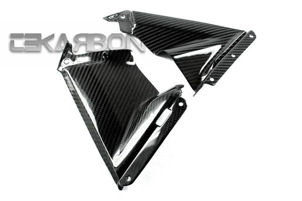 2009 - 2014 Aprilia RSV4 Carbon Fiber Side Fairing Panels