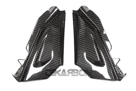 2015 - 2016 BMW F800R Carbon Fiber Front Side Tank Panels