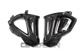 2015 - 2016 BMW F800R Carbon Fiber Front Side Fairing Panels