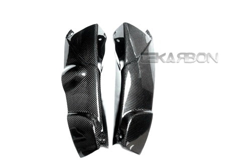 2005 - 2008 BMW K1200R Carbon Fiber Radiator Covers