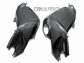 2005 - 2012 BMW K1200R K1300R Carbon Fiber Tank Cover 2pc