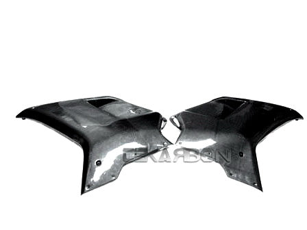 2007 - 2012 Ducati 1198 1098 848 Carbon Fiber Large Side Fairings
