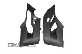 2012 - 2018 Ducati 1199 1299 959 Panigale Carbon Fiber Lower Side Fairings (Matte Only)