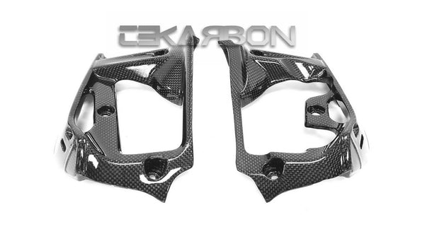 2014 - 2019 Ducati Monster 1200 / 821 Carbon Fiber Radiator Covers