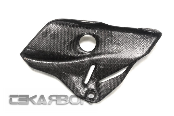 2014 - 2017 Ducati Monster 1200 821 Carbon Fiber Heat Shield RH