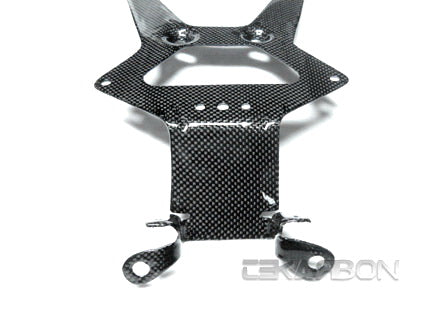 2008 - 2012 Ducati Monster 696 1100 Carbon Fiber License Plate Holder
