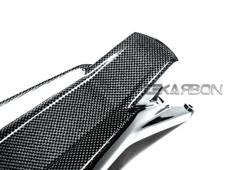 2008 - 2014 Ducati Monster 696 796 1100 Carbon Fiber Mudflap Top Cover