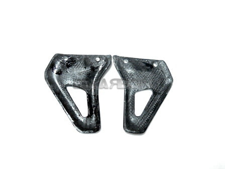 2004 - 2008 Ducati Monster S2R S4R Carbon Fiber Rear Heel Plates