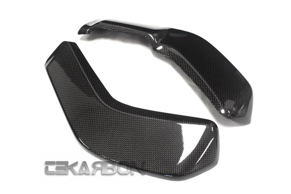 2016 - 2018 Ducati XDiavel Carbon Fiber Radiator Covers