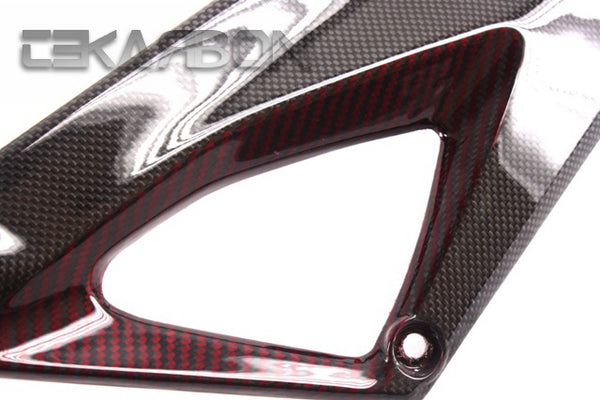 2007 - 2012 Ducati Superbike 1198 1098 848 Carbon Fiber Side Tank Panels