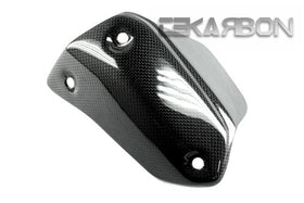 2013 - 2015 Ducati Hypermotard / Hyperstrada Carbon Fiber Exhaust Cover