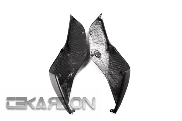 2012 - 2014 Ducati 1199 899 Panigale Carbon Fiber Tail Side Fairings