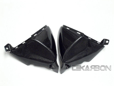 2007 - 2012 Honda CBR600RR Carbon Fiber Headlight Side Panels