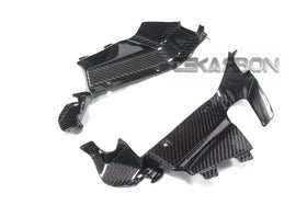 2013 - 2019 Honda CBR600RR Carbon Fiber Upper Inner Side Panels
