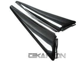 2008 - 2011 Honda CBR1000RR Carbon Fiber Side Panels