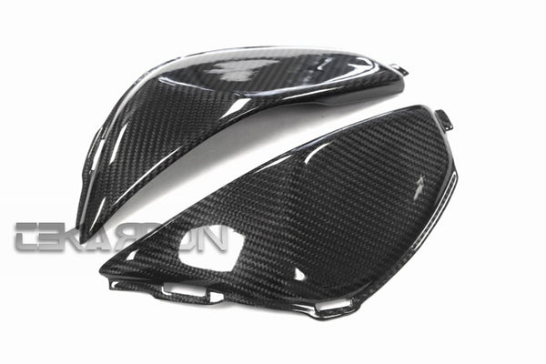 2008 - 2011 Honda CBR1000RR Carbon Fiber Side Tank Panels