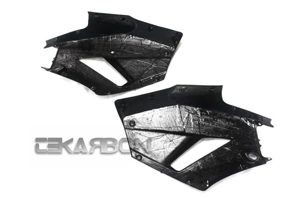 2013 - 2019 Honda CBR600RR Carbon Fiber Large Side Fairings