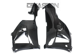 2013 - 2019 Honda CBR600RR Carbon Fiber Lower Side Fairings
