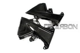 2013 - 2019 Honda CBR600RR Carbon Fiber Side Tank Panels