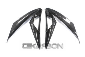 2013 - 2017 Kawasaki Ninja 300 250R Carbon Fiber Front Side Fairings