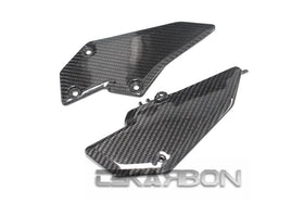 2013 - 2017 Kawasaki Ninja 300 250R Z300 Z250 Carbon Fiber Lower Side Panels
