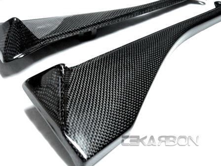 2008 - 2009 Kawasaki ZX10R Carbon Fiber Air Intake Covers
