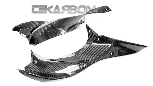 2018 - 2020 Kawasaki H2 SX SE Carbon Fiber Side Panels