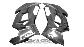 2018 - 2020 Kawasaki Ninja H2 SX SE Carbon Fiber Large Side Fairings