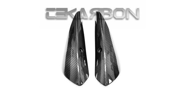 2006 - 2007 Kawasaki ZX10R Carbon Fiber Exhaust Heat Shield