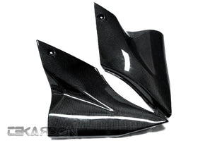 2006 - 2007 Kawasaki ZX10R Carbon Fiber Side Tank Panels