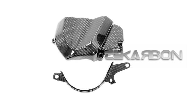 2006 - 2007 Kawasaki ZX10R Carbon Fiber Sprocket Cover 2 pcs