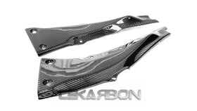 2016 - 2017 Kawasaki ZX10R Carbon Fiber Rear Frame Covers