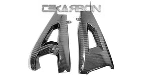 2016 - 2019 Kawasaki ZX10R Carbon Fiber Swingarm Covers