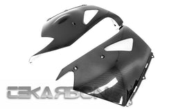 2006 - 2011 Kawasaki ZX14R Carbon Fiber Lower Side Fairings