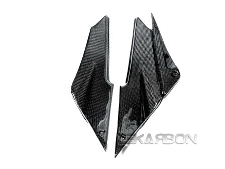 2005 - 2006 Kawasaki ZX6R Carbon Fiber Side Tank Panels