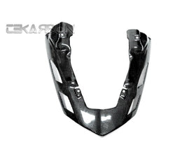2007 - 2008 Kawasaki ZX6R Carbon Fiber Exhaust Cover Vented
