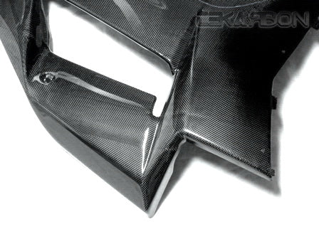 2007 - 2008 Kawasaki ZX6R Carbon Fiber Large Side Fairings