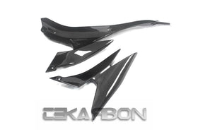 2007 - 2008 Kawasaki ZX6R Carbon Fiber Side Panels