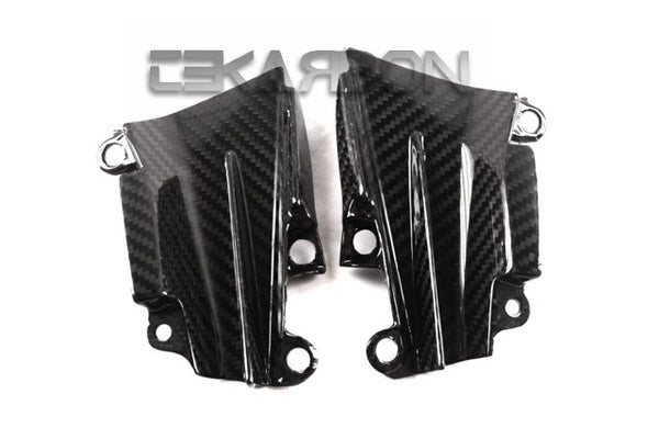 2014 - 2016 Kawasaki Z1000 Carbon Fiber Small Side Panels