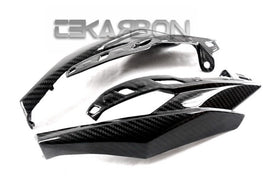 2014 - 2016 Kawasaki Z1000 Carbon Fiber Headlight Side Panels