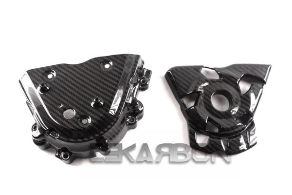 2010 - 2016 Kawasaki Z1000 Carbon Fiber Sprocket Cover