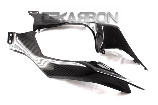 2014 - 2016 Kawasaki Z1000 Carbon Fiber Tail Side Fairings
